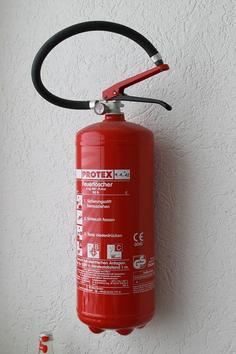 Fire Extinguisher Wall Red Hose & Free photo Wall Fire Extinguisher Hose Red - Max Pixel