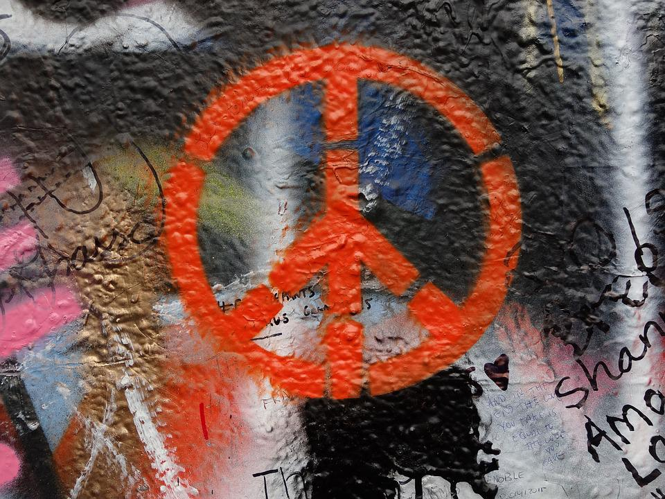 Graffiti, Wall, Message, Tourism, Czech, Republic