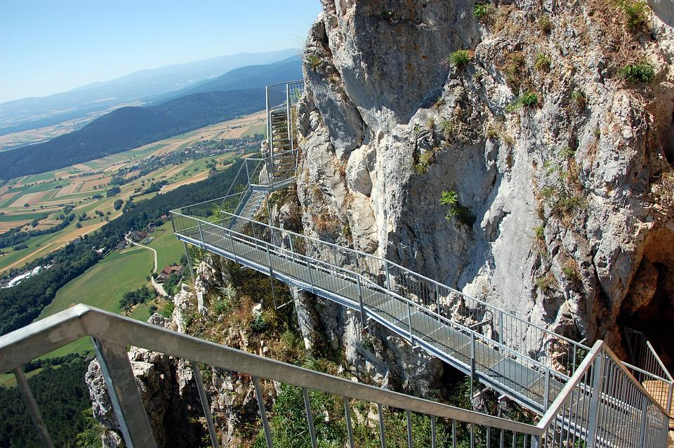 Mountain, Wall, Outdoor, Tourism, Rock, High, Stone