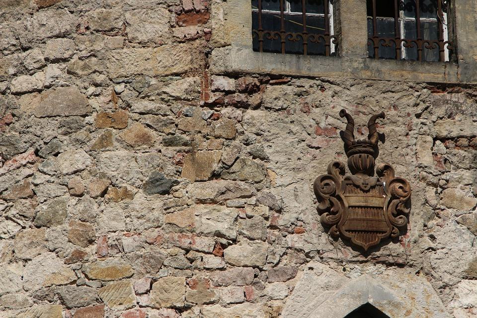 Castle, Wall, Stone Wall, Facade, Historically