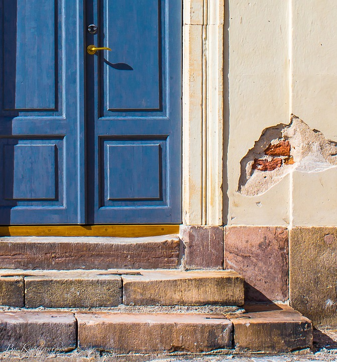 Door, Old, Wall, Architecture, Window, House, Building