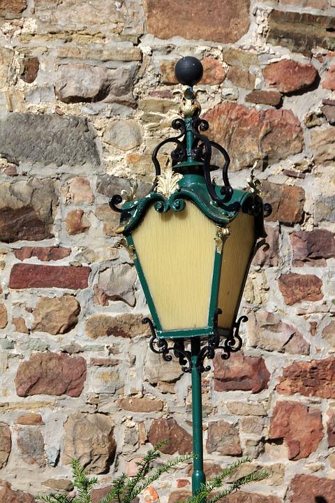 Wall, Lantern, Masonry
