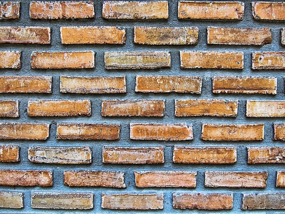 Wall, Masonry, Texture, Brick, Joints, Red, Bricked
