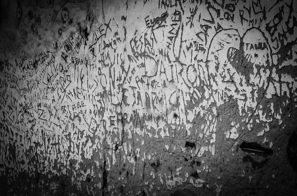Scratches, Wall, Old, Wear, Ruin, Stone, Facade