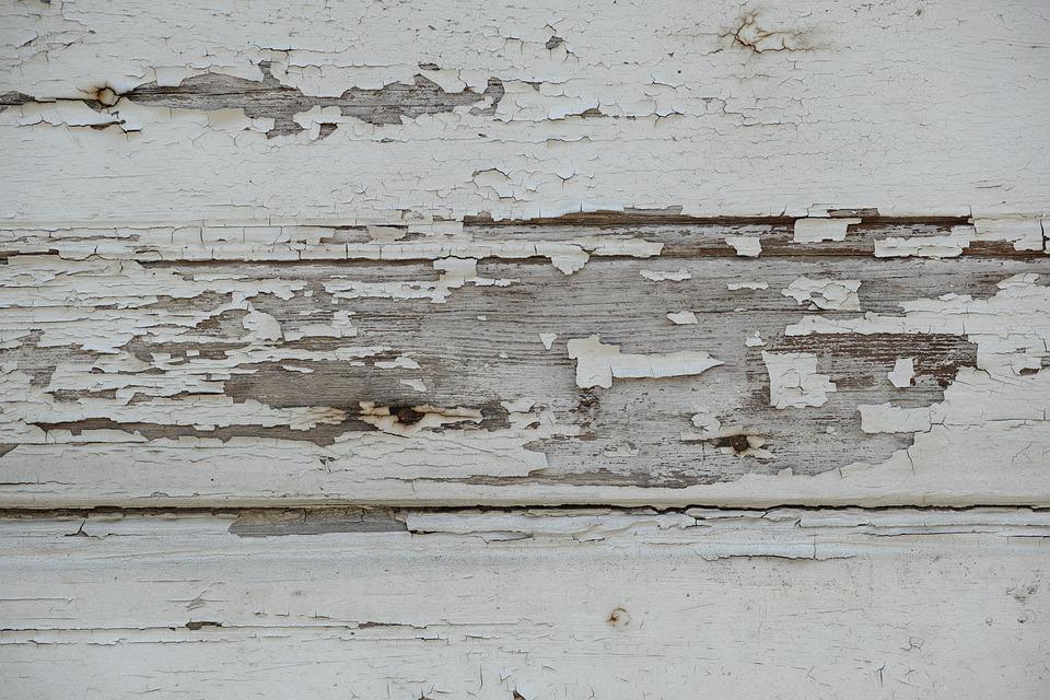 Wood, White, Grey, Old, Wall, Closeup, Macro, Painted