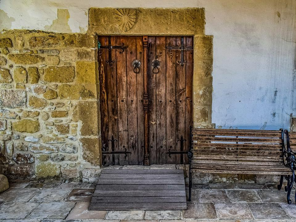 Free Photo Wall Old Wooden Architecture Exterior Door Church Max Pixel