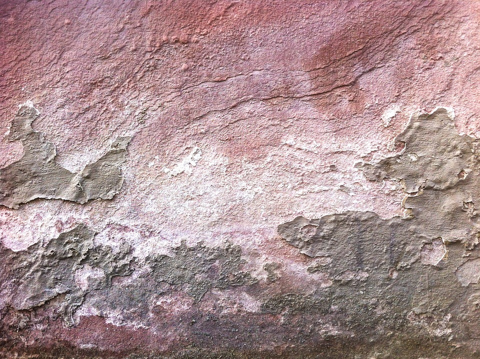 Wall, Concrete, Structure, Pink, Grey, Pattern, Grunge