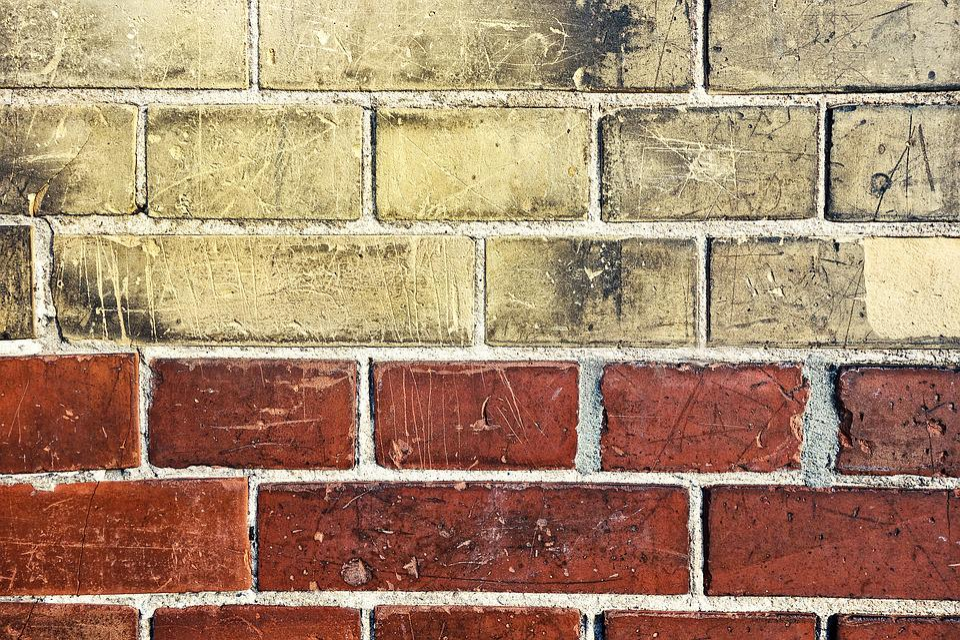 Brick Wall Yellow Red Masonry