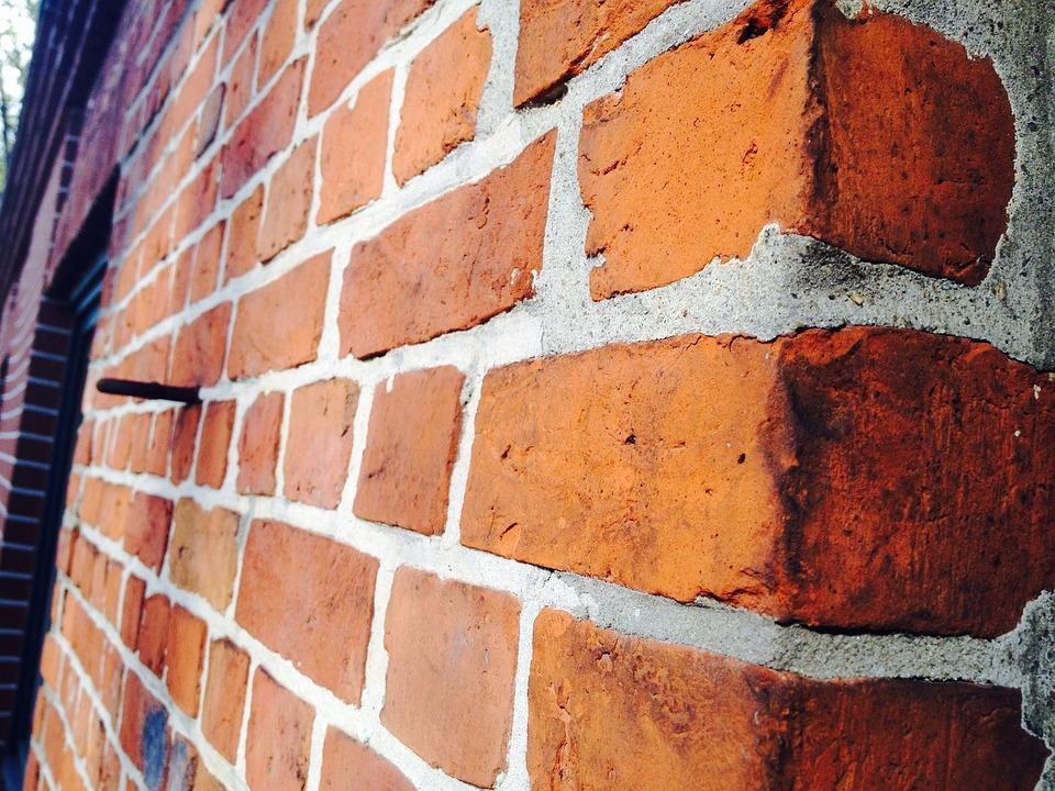 Bricks, Wall, Red, Old