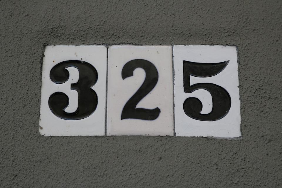 Sign, Number, Wall, Street, Vintage, Road, Concrete