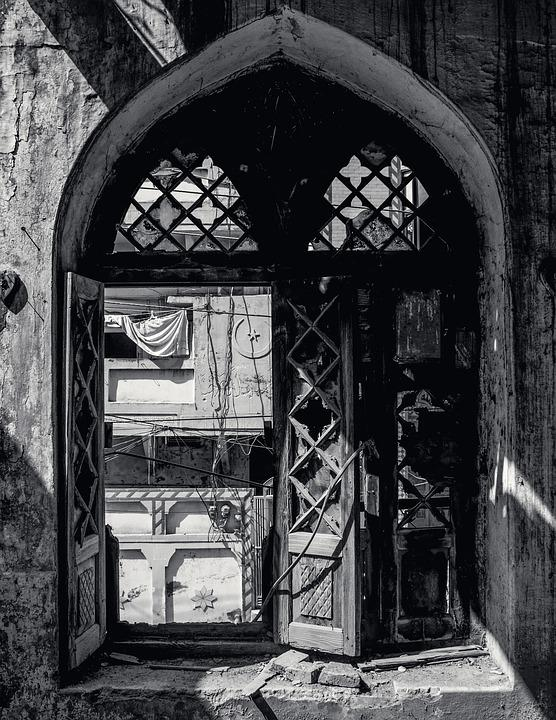 Old, Window, Forgotten, Vintage, Wall, Room, Interior