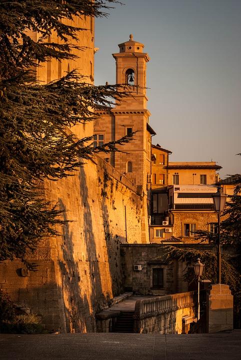 San Marino, Wall, Castle, Architecture, Citadel, Walls