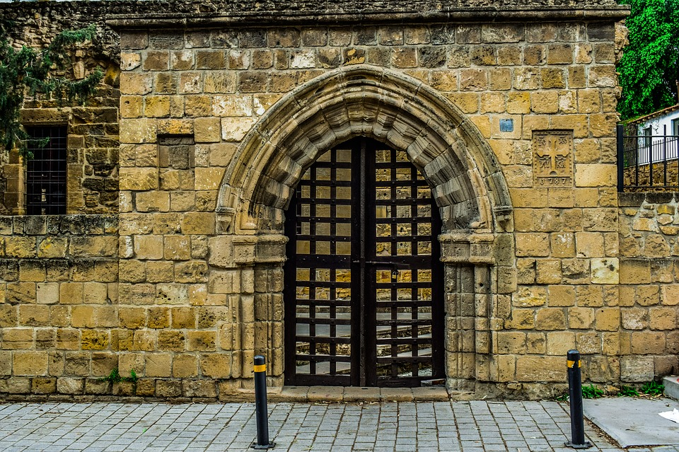 Gate Old Architecture Wall Gothic Brick Stone