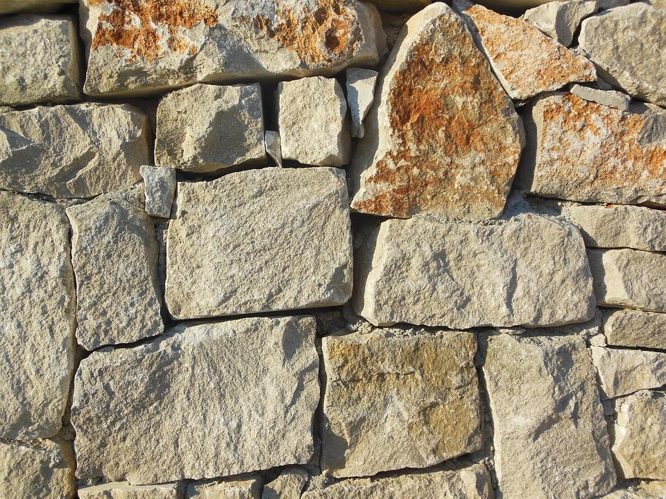 Stones, Wall Stones, Trieste, Wall, Briks