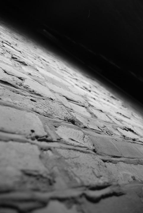 Wall, Black And White, Pattern, Surface, Street