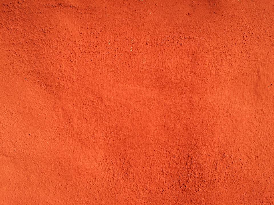 Wall, Sunlit, Ystad, Background, Orange Color