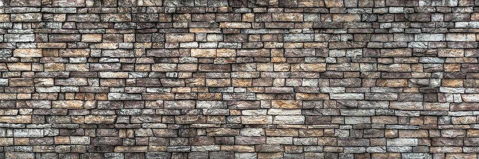 Wall, Damme, Stone Wall, Pattern, Texture, Grey