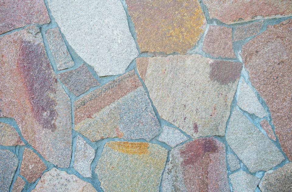 Porphyry, Wall, Texture, Background, House, Mock Up