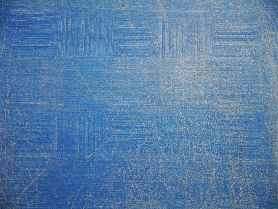 Painted, Blue, Scratches, Backdrop, Wall, Texture