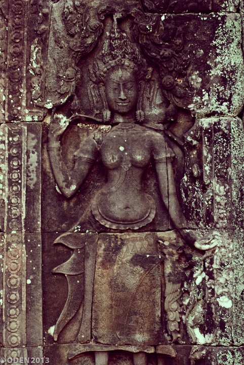 Temple, Wall, Architecture, Asia, Texture, Ancient