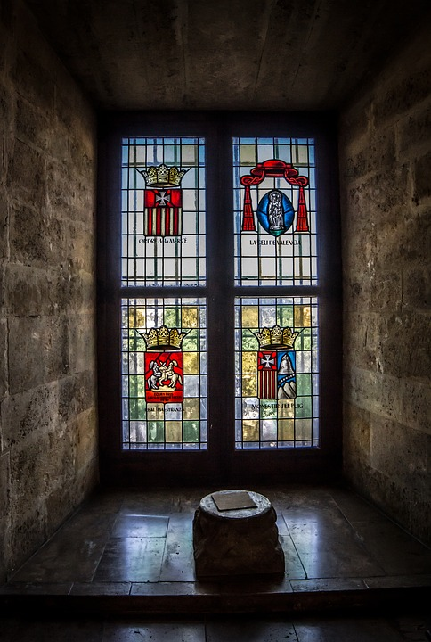Window, Architecture, In, Old, Gothic, Wall, Travel