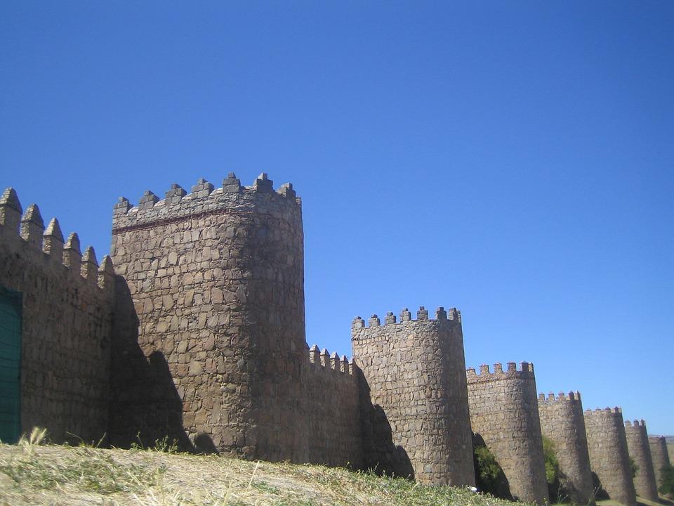 Avila, Wall, Walls, Castle