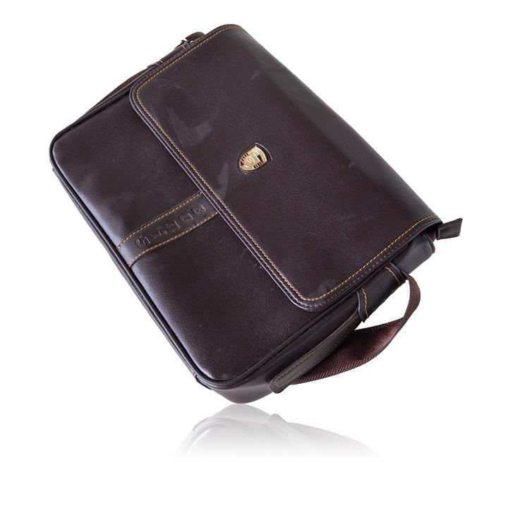 Bonis Leather Business Bag, Leather, Wallet, Isolated