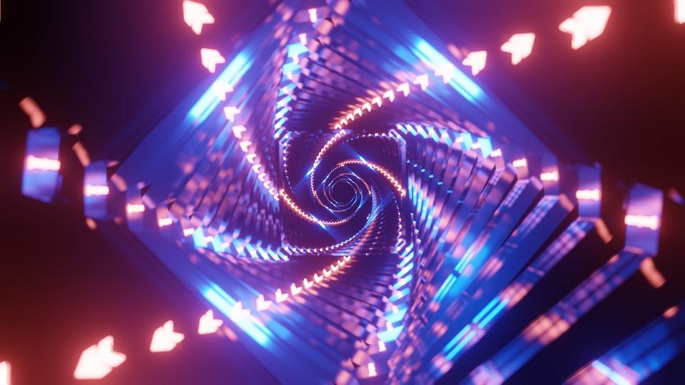 Free Photo Wallpaper 4k Cgi Blender Abstract Tunnel Max Pixel