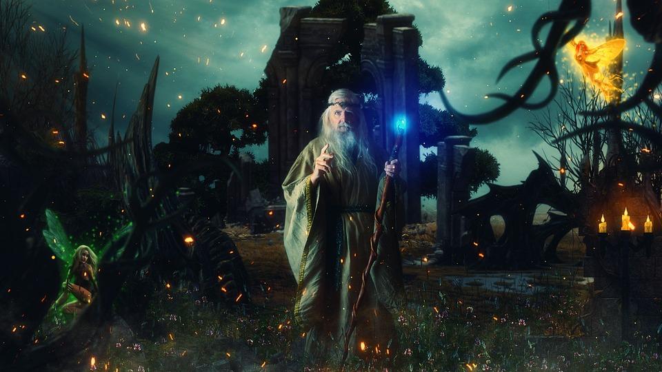 Druid, Fairies, Magic, Wallpaper, Mystical, Fantasy