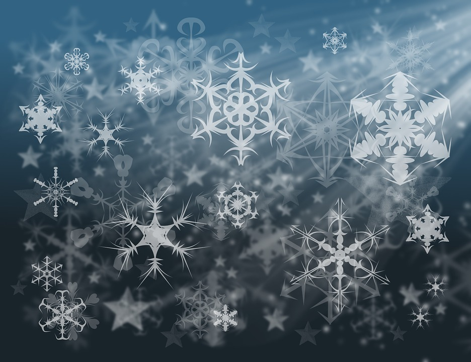 Snowflakes, Wallpaper, Snow, The Delicacy, Pattern