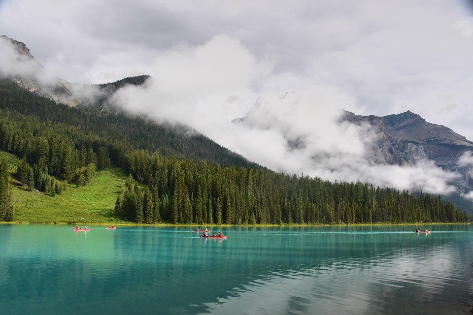 Lake, Mountain, The Water, Reflection, Woods, Wallpaper