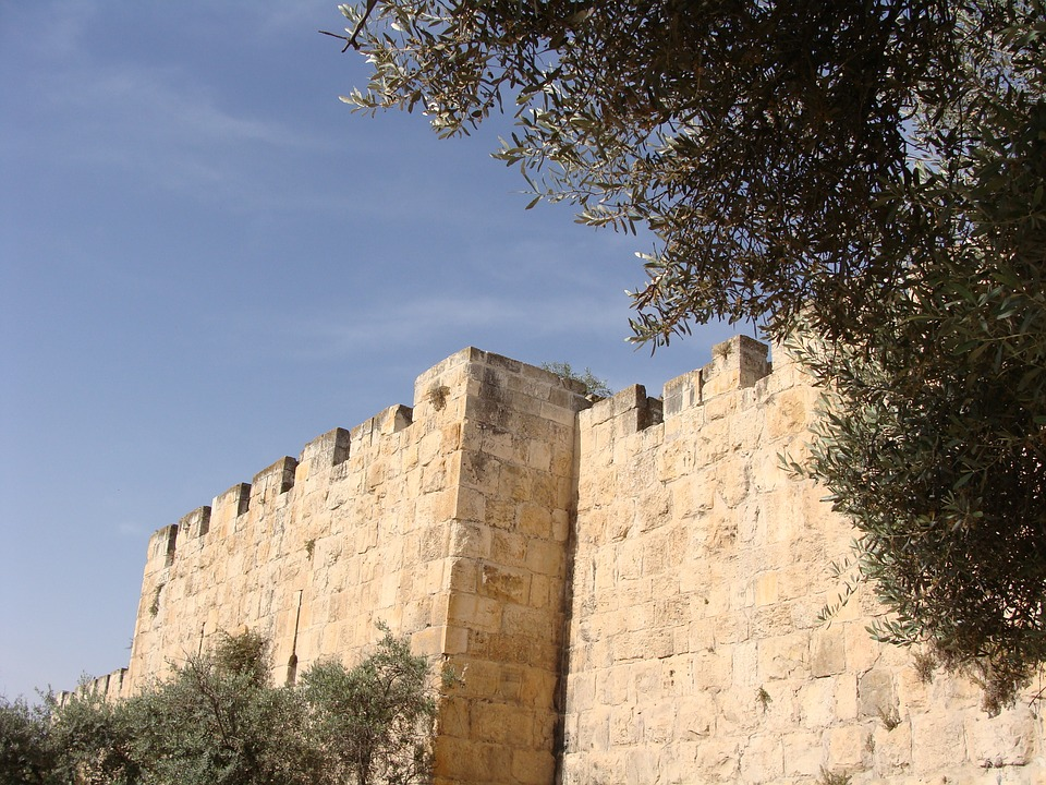 Walls, Jerusalem, Wailing, Stone