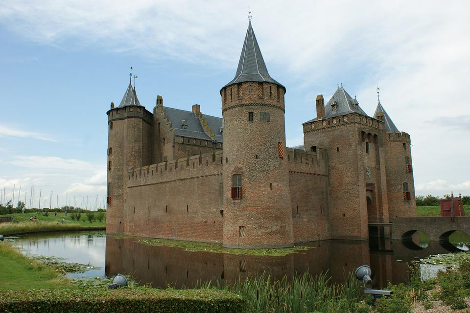Castle, Tower, Walls, Fortress, Old, Middle Ages