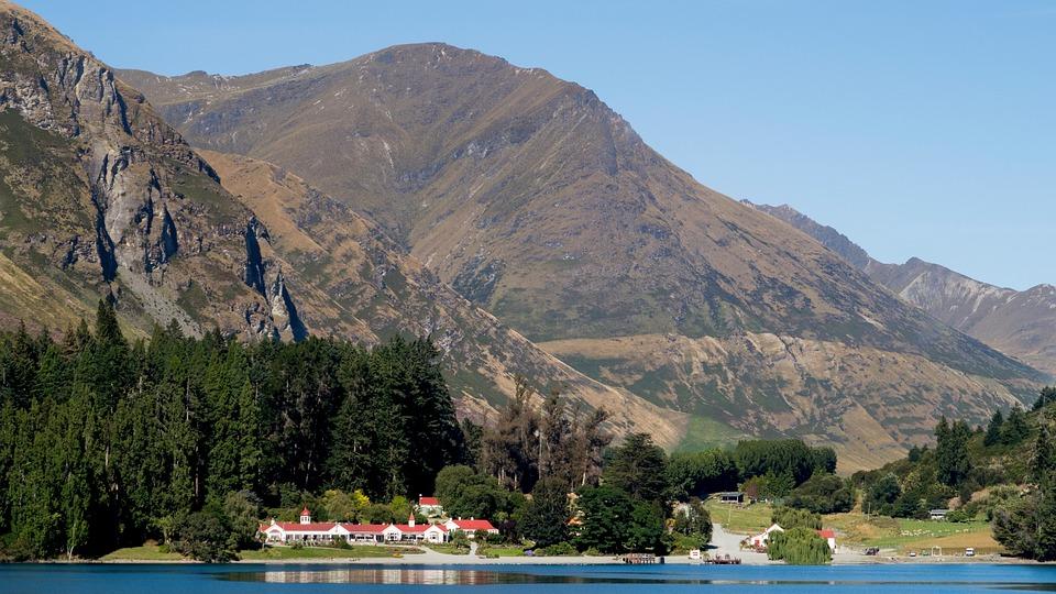 Walter Peak Farm, Farm, Walter Peak, Lake Wakatipu