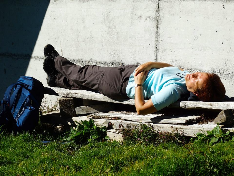 Wanderin, Rest, Sunbathing, Enjoy