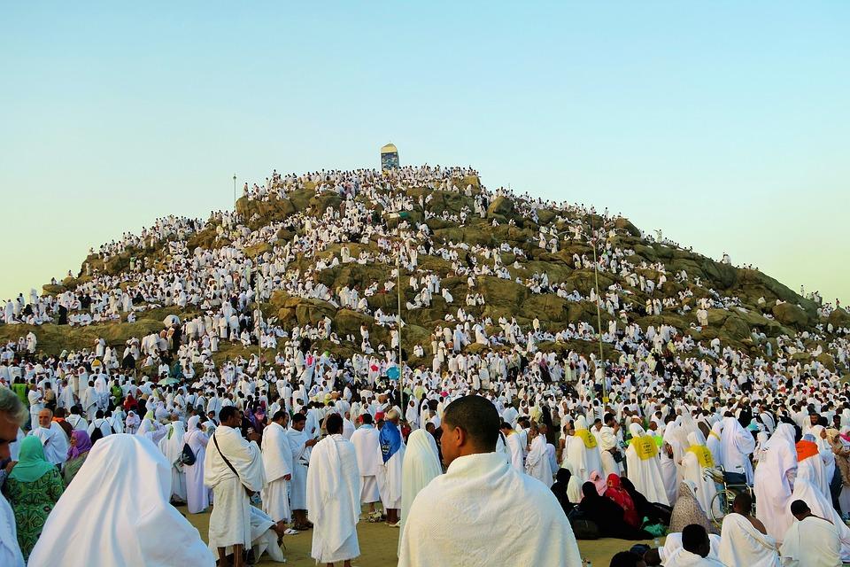 Religion, Islam, The Pilgrim's Guide, Arafat, Waqfa