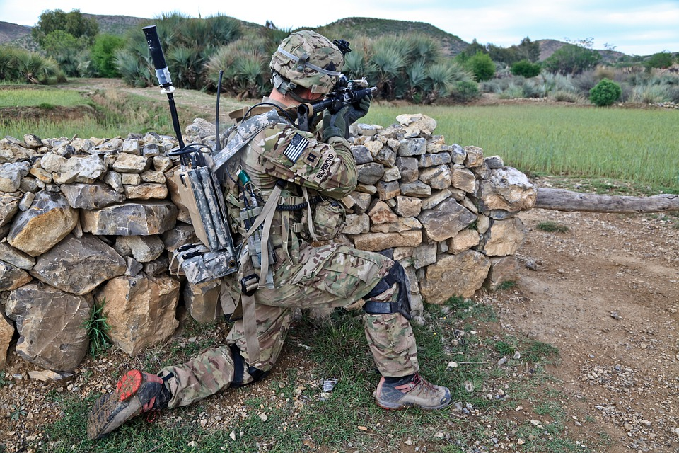 Soldier, Army, Afghanistan, Shooting, Weapons, War