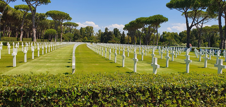 Cemetery, War, Memory, Military, Soldiers, Historian