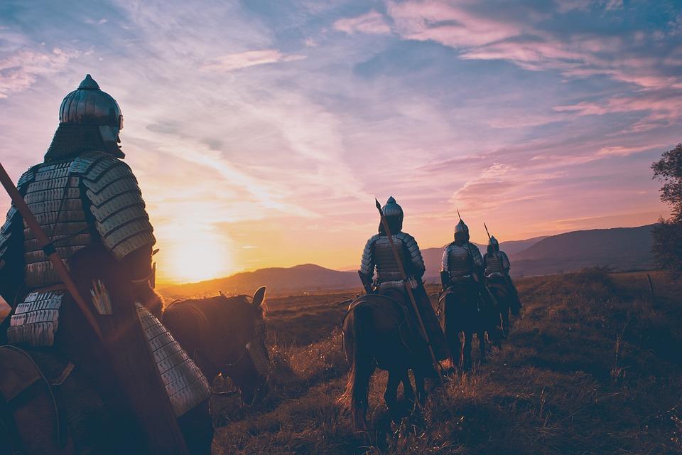 Horse, Soldier, Warrior, War, Battle, Military, History