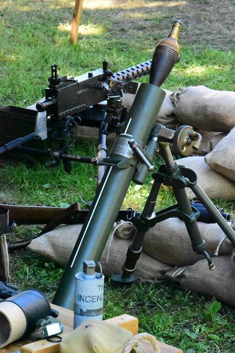 Weapon, Army, War, Military, Weapons, Canon, Rocket