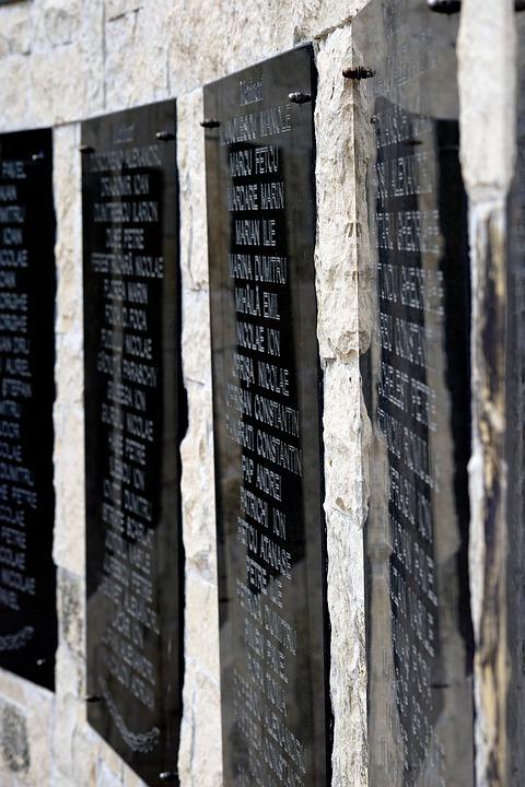 Monument, Name, Memory, The Holocaust, Memorial, War