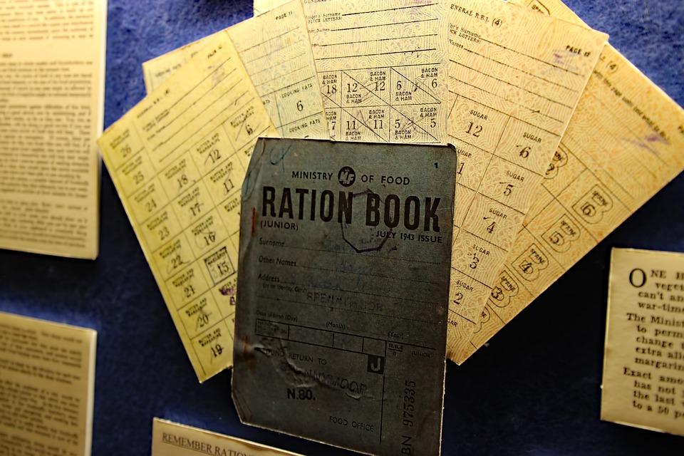 Ration Book, War, Book, British, Ration, Britain