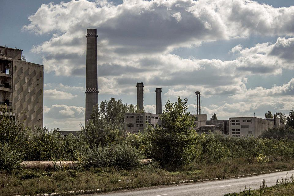 Abandoned, Industry, Building, Warehouse, Old