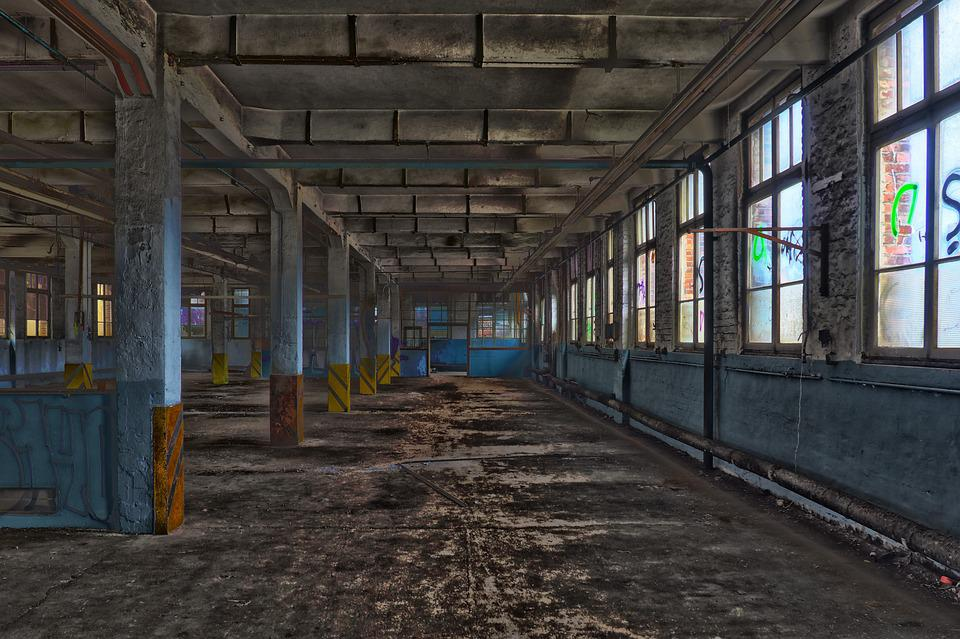 Free Photo Warehouse Building Old Architecture Empty Leave