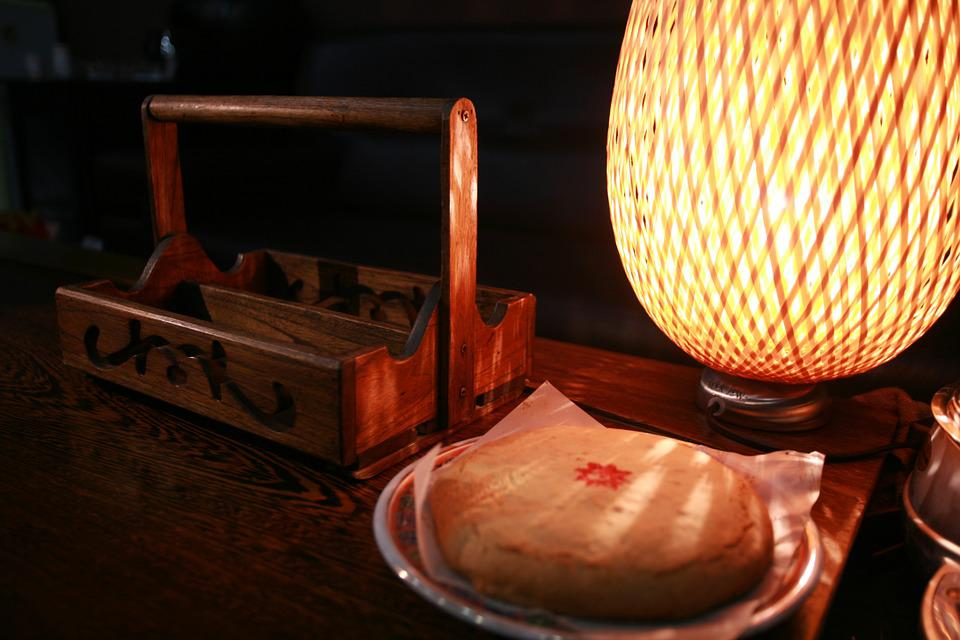 Cake, Food Containers, Lamp, Warm