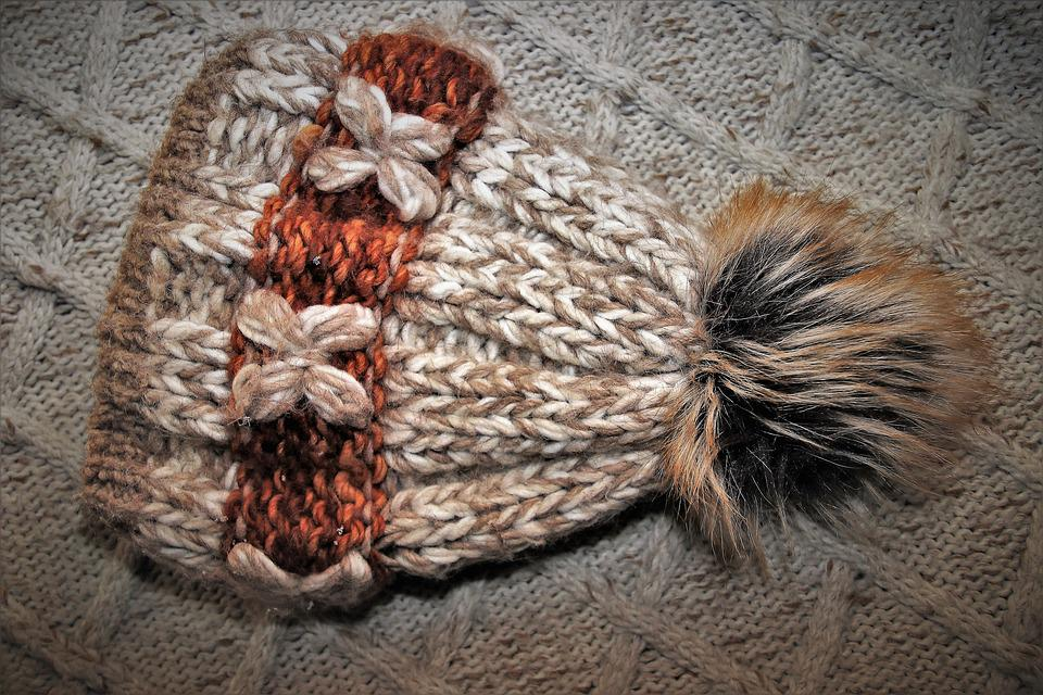 Cold, Cap, Warming, Wool, Hat, Weave