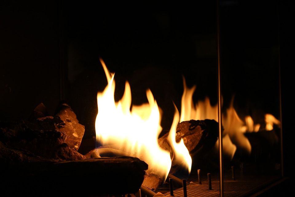 Fire, Fireplace, Stove, Winter, Bonfire, Home, Warmth