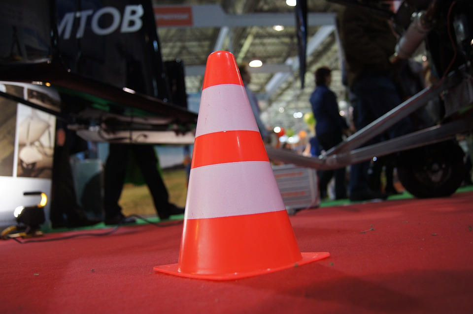 Traffic, Hat, Traffic Cone, Red, White, Shield, Warning