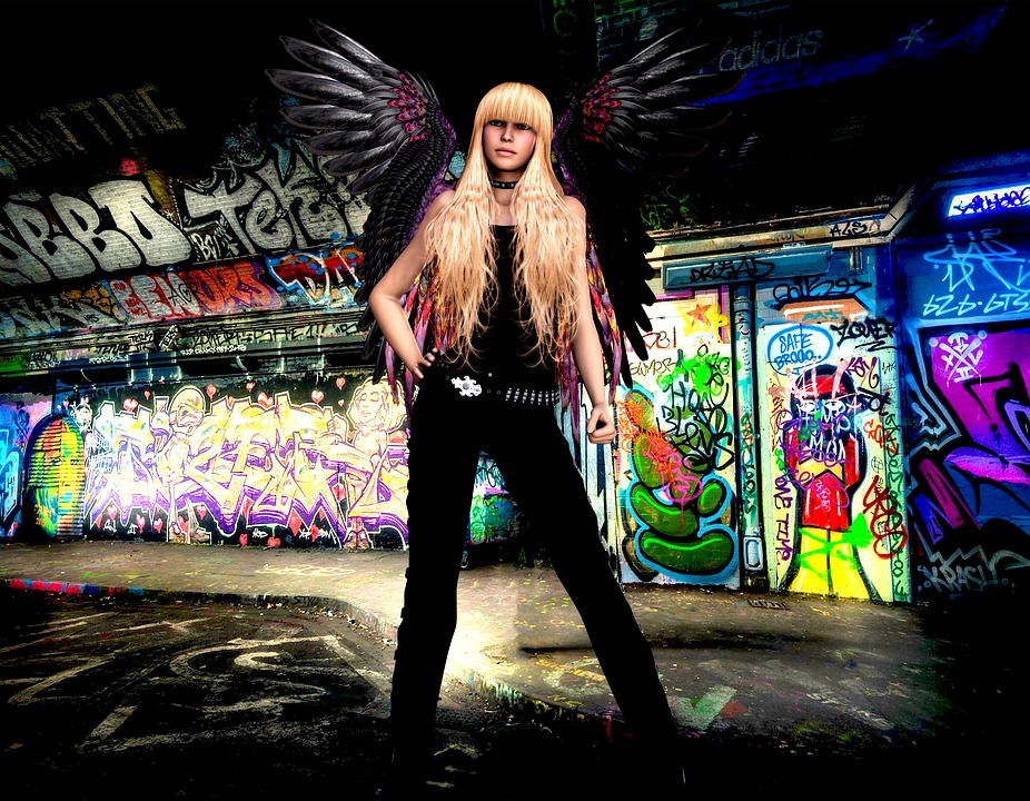 Woman, Adult, Angel, Mystical, Fantasy, Female, Warrior