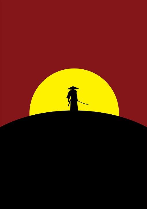 Samurai, Warrior, Japanese, Sword, Japan, Katana